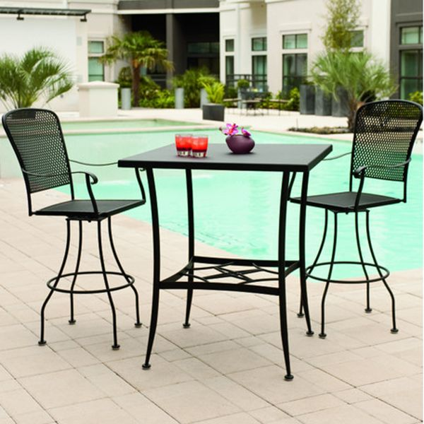 fullerton bar height patios bar and iron patio furniture
