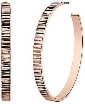 ShopStyle jcpenney DOWNTOWN BY LANA Rose GoldTone Rivet Hoop