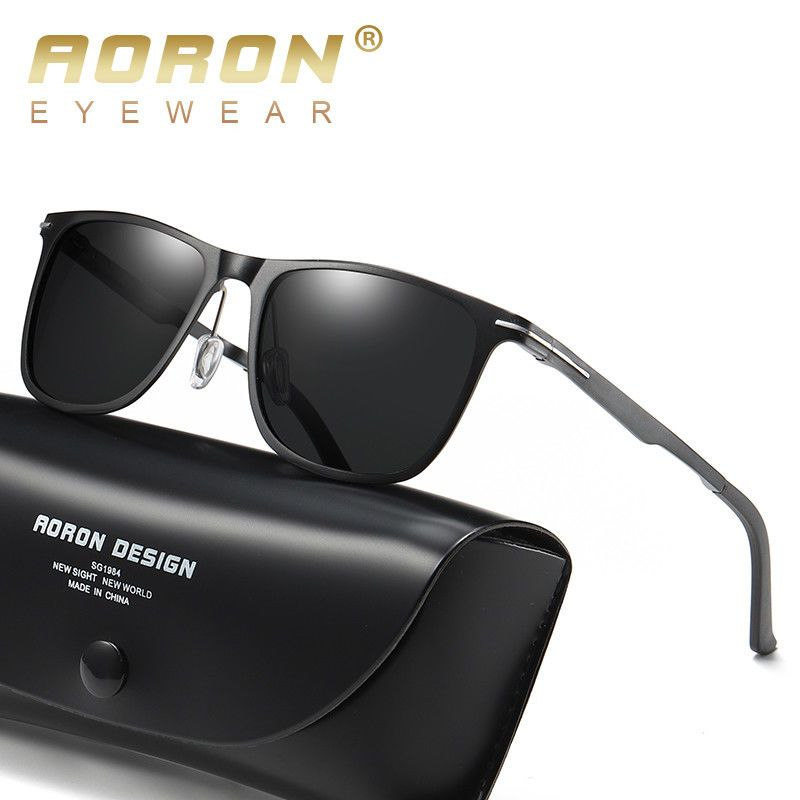 f97d1ca23a61 Aluminum Pilot Polarized Sunglasses Men s Driving Glasses Outdoor Sports  Eyewear  fashion  clothes  shoes