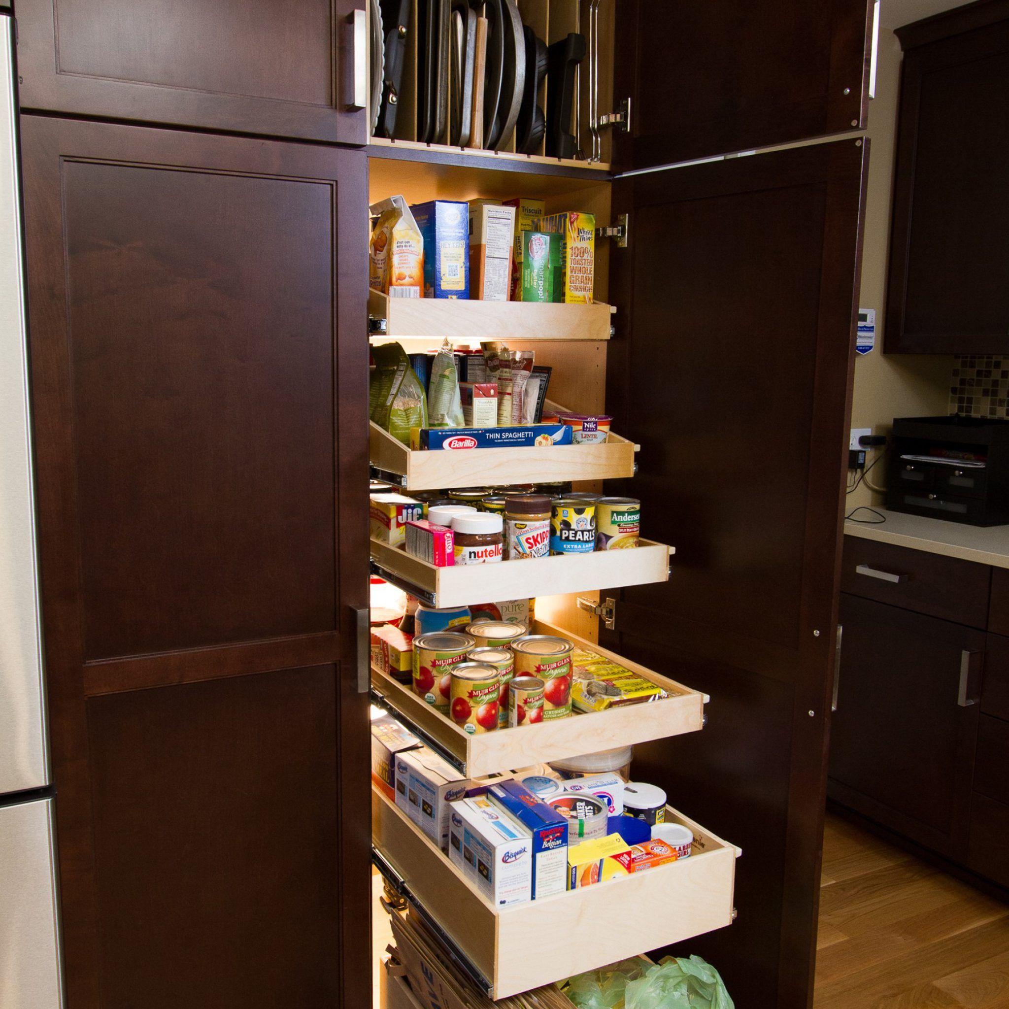 Vorteile Von Kuchenschranken Aufgeraumte Speisekammer Ikea