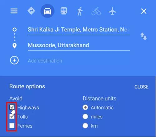 9a54c32c9e22cafa58ab6b4a7304963d - How Do I Get Google Maps To Avoid Toll Roads