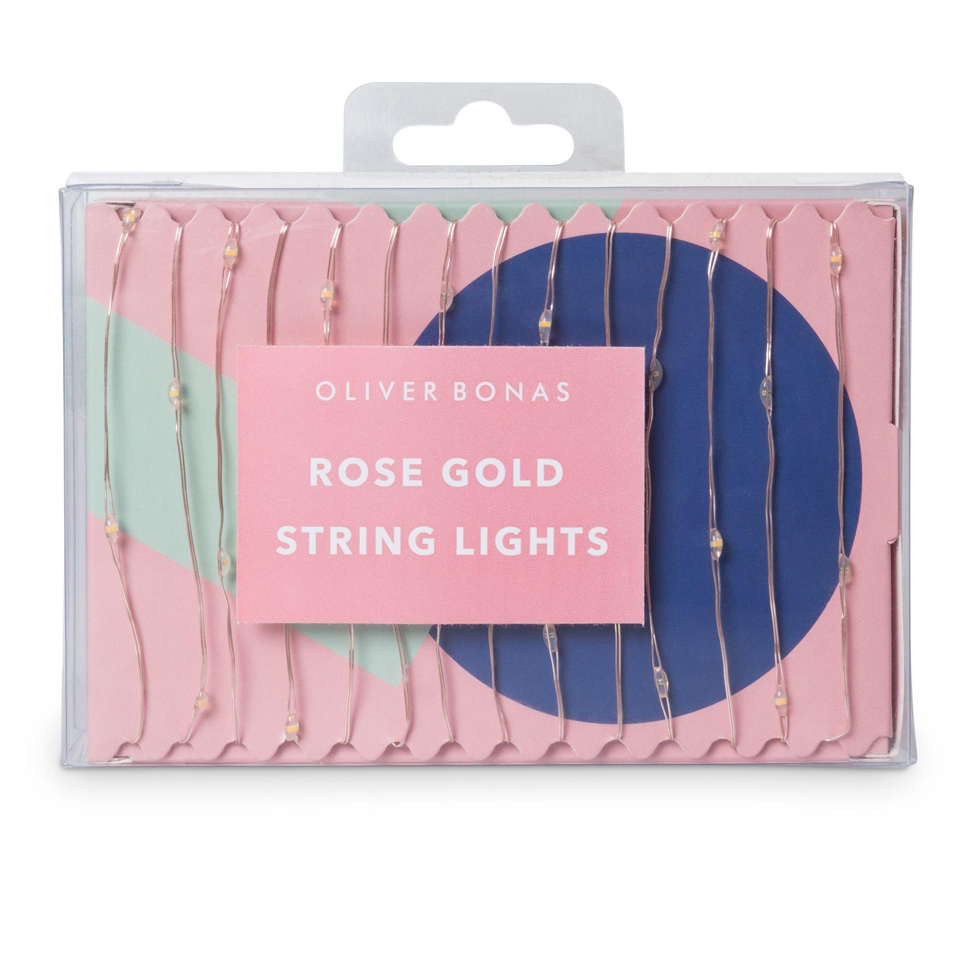 Buy the rose gold string lights at oliver bonas enjoy free uk