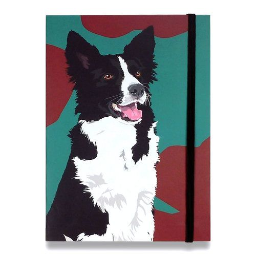 Collie Notepad 8 At Www Twowoofs Co Uk Collie Border Collie