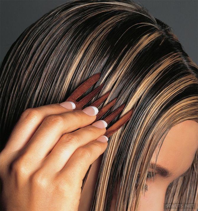 Мелирование коротких волос пошагово