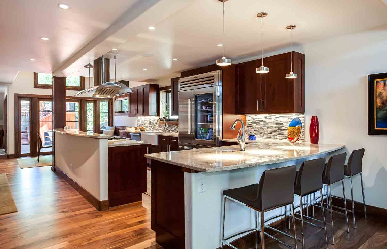 Transitional Cherry Kitchen in Cherry Creek - JM Kitchen and Bath