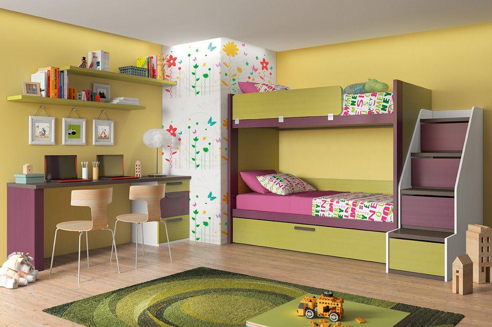 Dormitorios dormitorios juveniles habitaciones juveniles - Habitaciones juveniles tren ...
