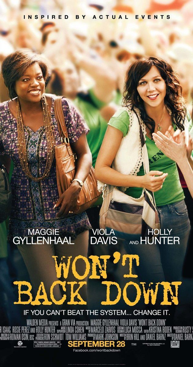 Directed by Daniel Barnz.  With Viola Davis, Maggie Gyllenhaal, Holly Hunter, Oscar Isaac. Two determined mothers­, one a teacher, look to transform their children's failing inner city school. Facing a powerful and entrenched bureaucracy, they risk everything to make a difference in the education and future of their children.