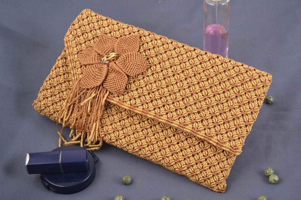660f67704ad7 Сумки макраме: схемы плетения и описание ручки, своими руками техника,  мастер-класс с фото, видео для начинающих