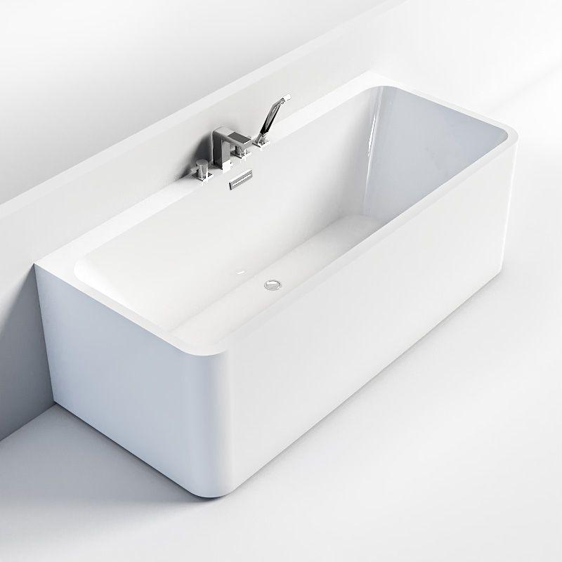 Baignoire Ilot Contre Mur 150x71 Cm Ou 170x75 Cm Acrylique Olia Baignoire Baignoire Rectangulaire Amenagement Salle De Bain