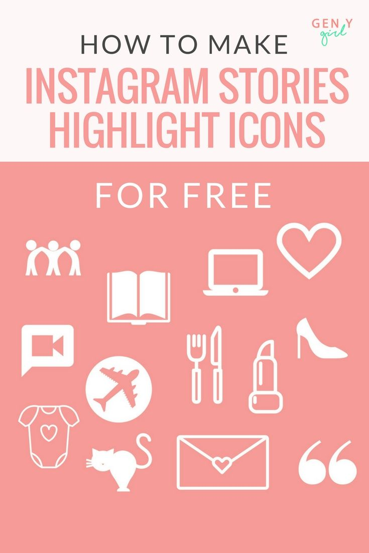How to make instagram stories highlight icons for free icons how to make instagram stories highlight icons for free icons tutorials and instagram ccuart Images