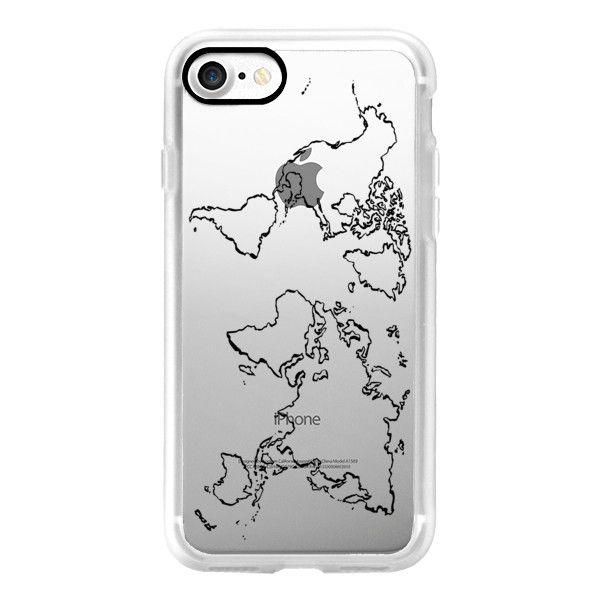coque carte du monde iphone 7