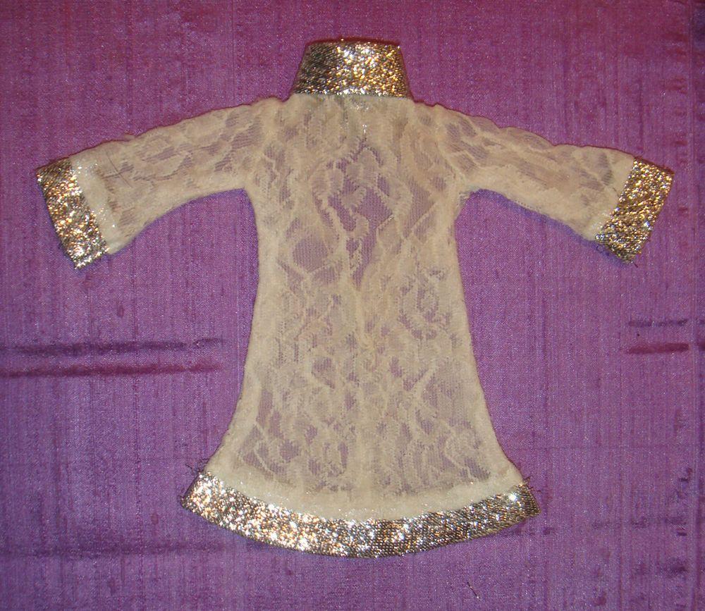 Vhtf Barbie Clone Miss Babette Babs Hk Lilli Elegant Lace Dress