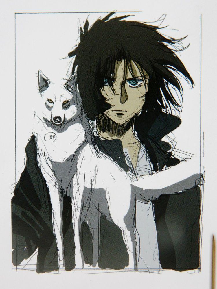 Wolf's Rain White Wolf Kiba Wolf's rain, Anime wolf