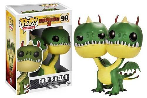 POP! Vinyl Figure How to Train Your Dragon 2 Barf & Belch - The Movie Store