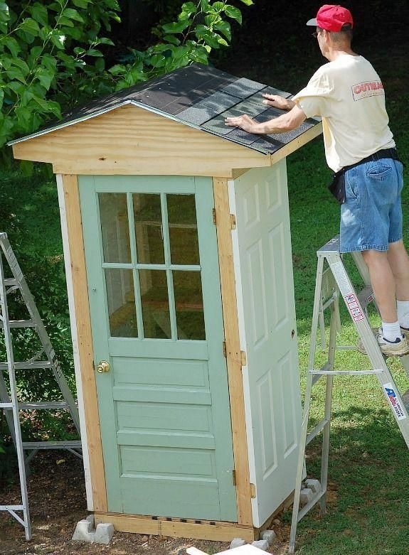 #gardentools | Garden tool shed, Building a shed, Shed storage