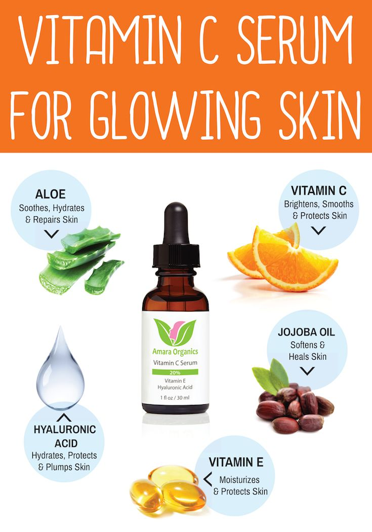 Vitamin C Serum for Face 20% With Hyaluronic Acid