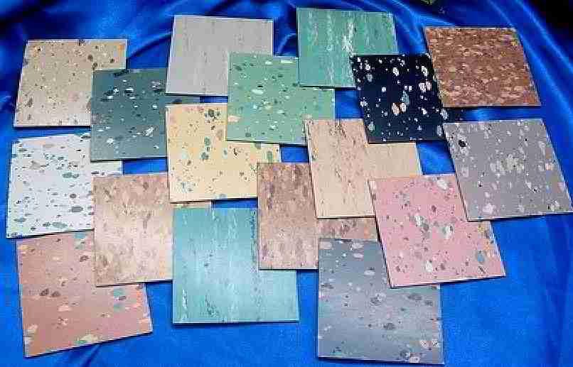 Retro Floor Tiles Floor Tiles 1900 1986 Photographs Kentile Kenflex Floor Asbestos Tile Asbestos Flooring