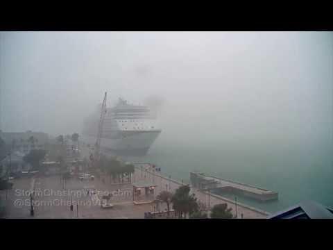 Key West, FL Blustery Rain and Wind - 2/13/2019 | Key west ...