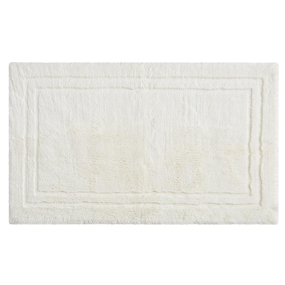 Mohawk Home Imperial 30 In X 50 In Cotton Bath Mat In Parchment