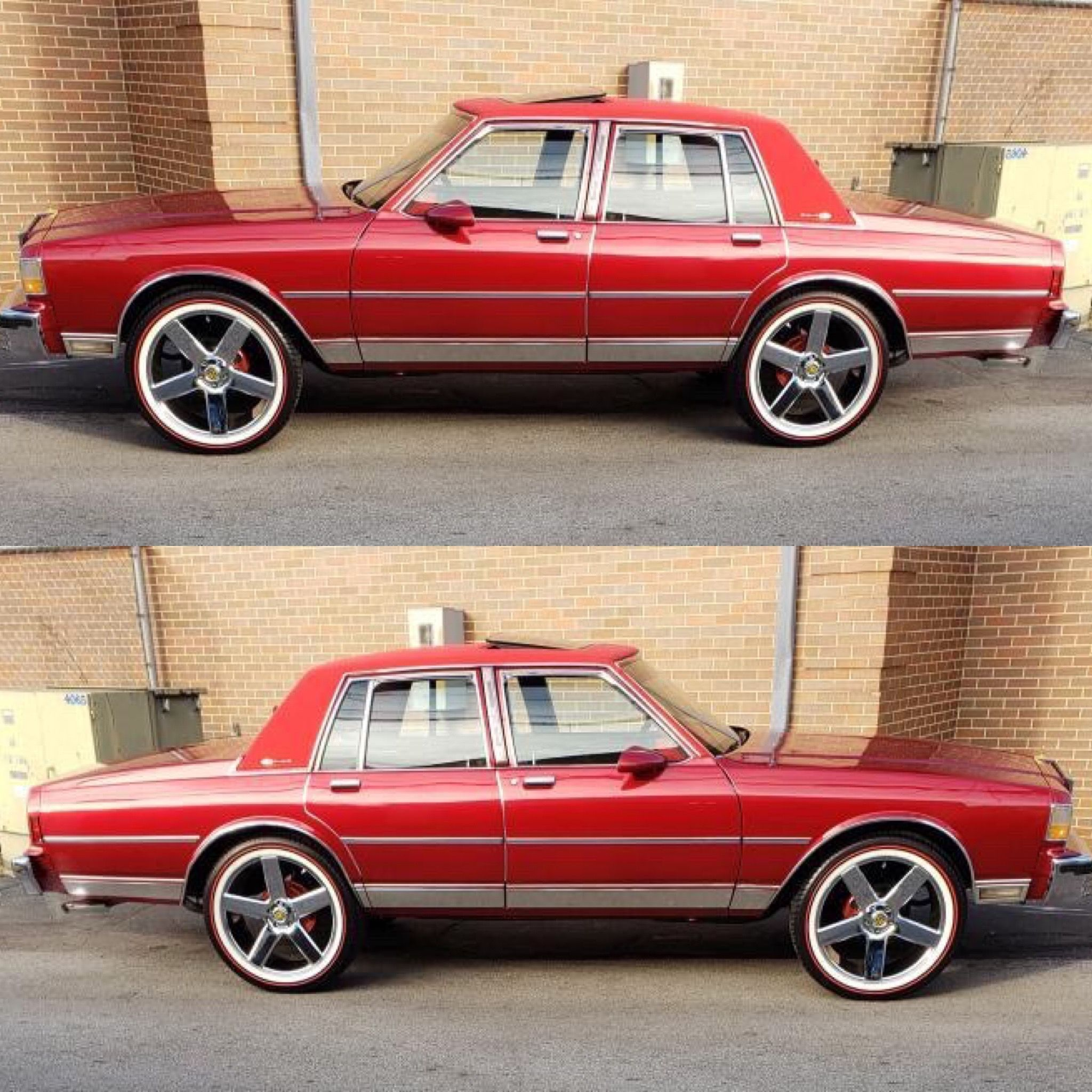 This Chevy is Ready! Check out the new Vogue a RED Stripe 😍 What does everybody think? Comment B