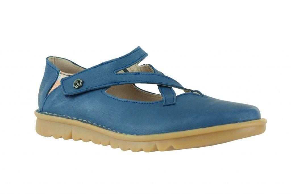 9a8c11409a1cba Ballerines bleues en cuir Alce shoes | Alce shoes | Chaussures Femme ...