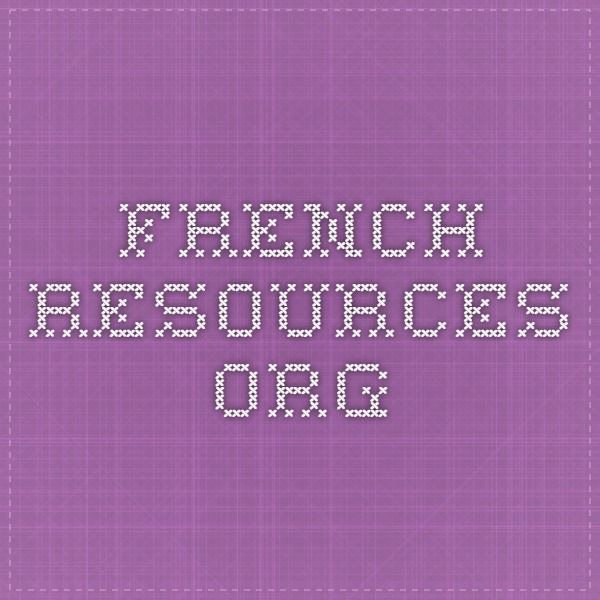 french-resources.org