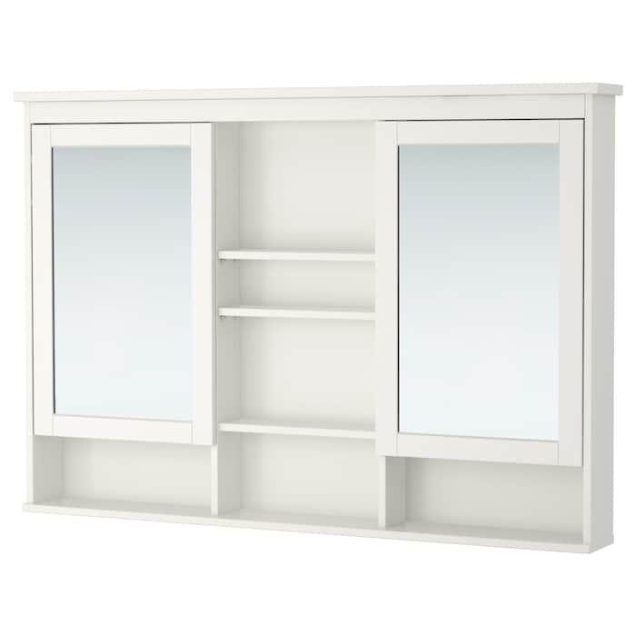 39++ Hemnes bathroom mirror cabinet with 2 doors grey model