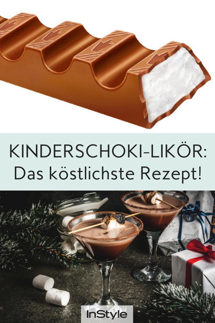 Likör aus Kinderschokolade ist das Leckerste, was du jetzt trinken kannst – wir haben das Rezept!