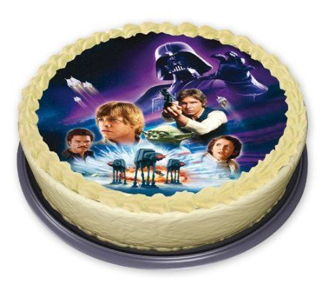 To Buy Star Wars Edible Cake Decoration Star Wars Amazoncouk