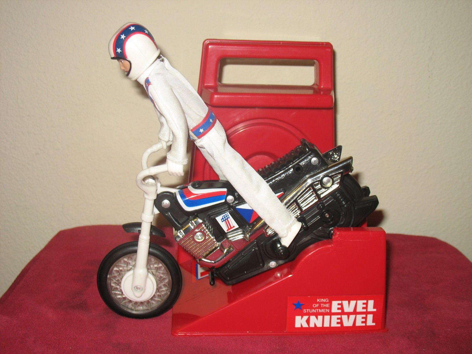 Vintage Evel Knievel In His: Vintage Evel Knievel Vs Modern Evel Knievel Toys On EBay