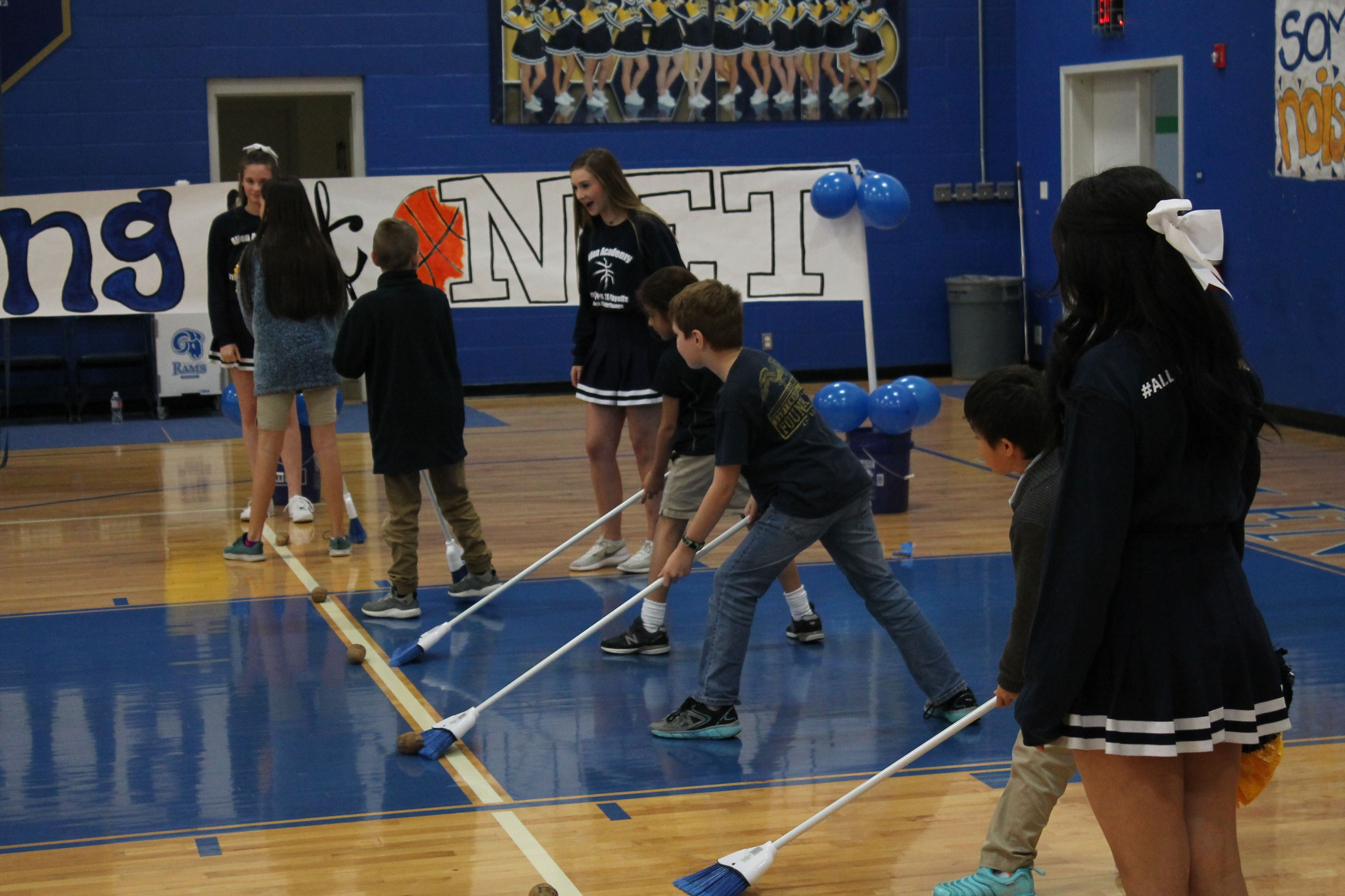 Clean Sweep Game Pep Rally Games Group Games For Kids Rally Games