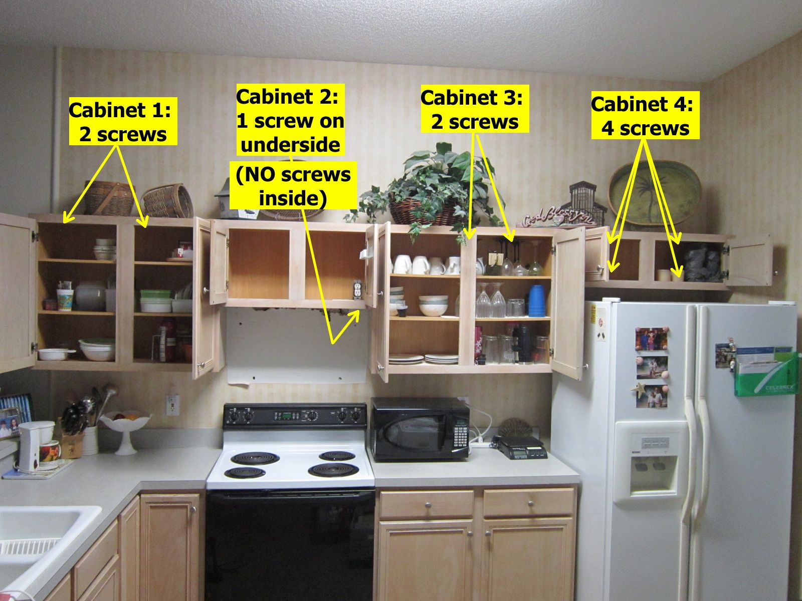 How Many Screws For Kitchen Cupboards Kitchen Cupboards Kitchen Kitchen Cabinets