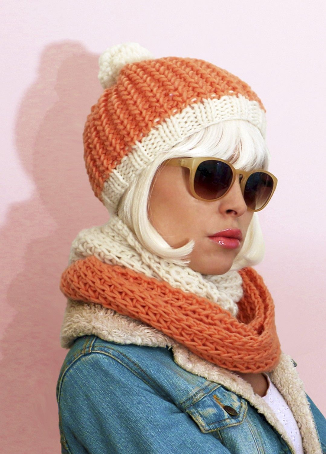 Cupcake Beanie and Snood / Morgane Mathieu & We Are Knitters ...