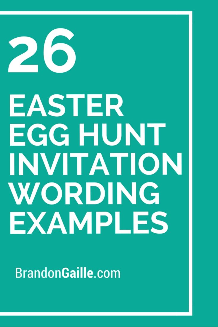 26 easter egg hunt invitation wording examples easter and egg 26 easter egg hunt invitation wording examples stopboris Image collections