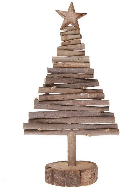 Arbol navidad madera nadal - Arboles de navidad de madera ...