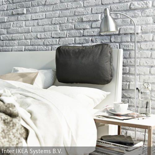 graue steinwand im schlafzimmer - Fantastisch Steinwand Schlafzimmer
