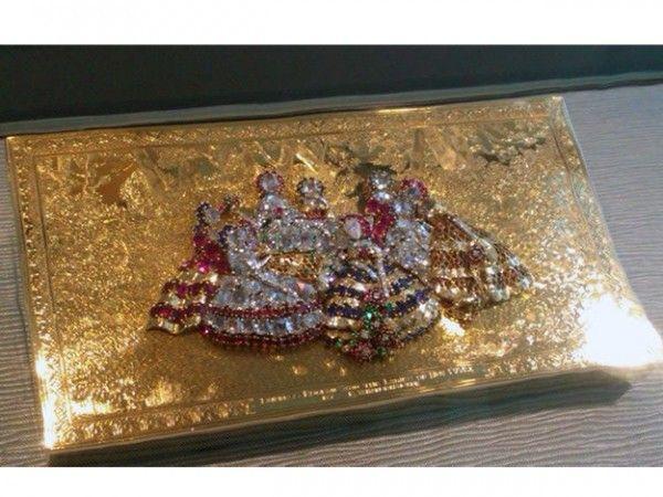 ナポレオン3世妃、ウジェニー皇后のミノディエールと呼ばれる化粧品入れ。