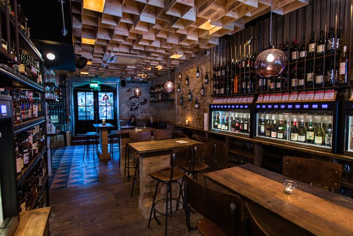 Delightful 2016 Restaurant U0026 Bar Design Awards Announced,Vagabond Wines (Spitalfields,  London, UK) / Finch Interiors. Image Courtesy Of The Restaurant U0026 Bar Design  ...
