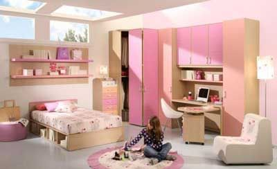 50 ideas para decorar el cuarto o dormitorio de una chica for Cuartos de ninas lindos