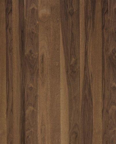 Wood Veneer Wall Paneling : Decorative wooden veneer wall panel smoked walnut