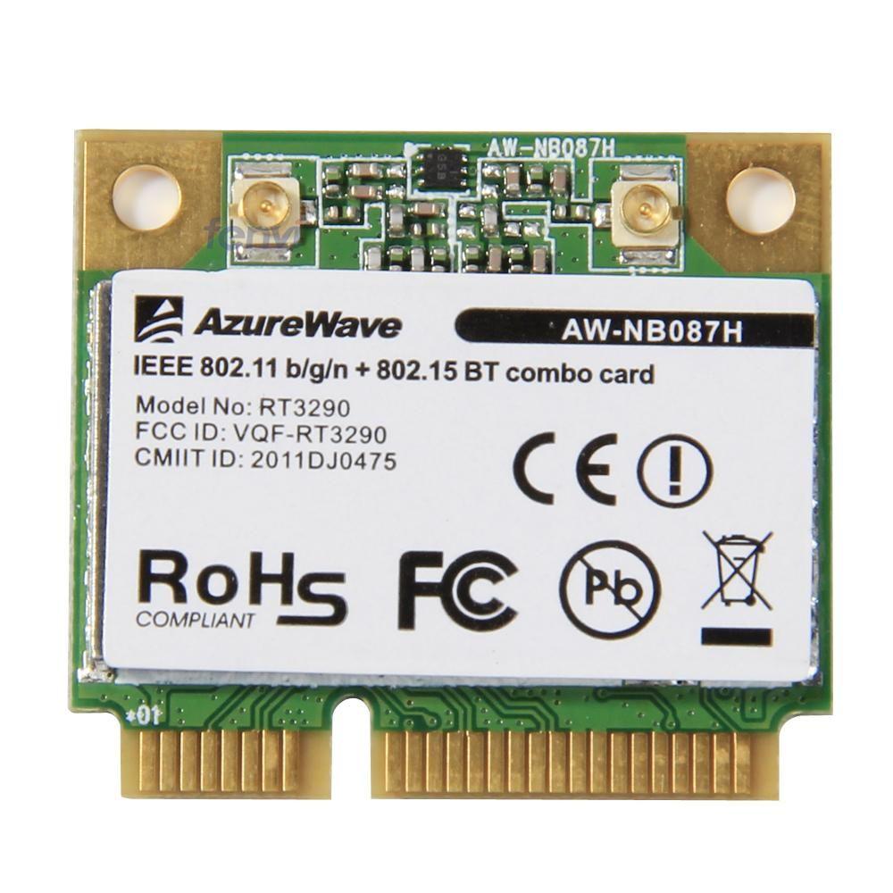 AzureWave AW-NB087H Ralink RT3290 Wireless 802 11 b/g/n 150Mbps Wifi
