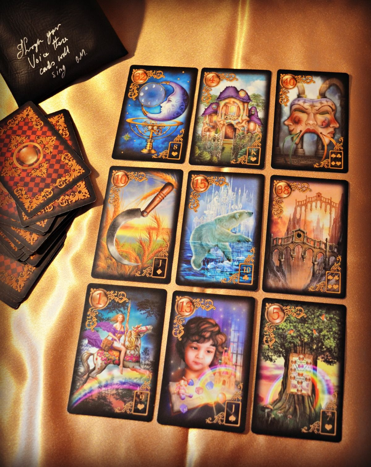 Gilded reverie lenormand a fascinating divination system