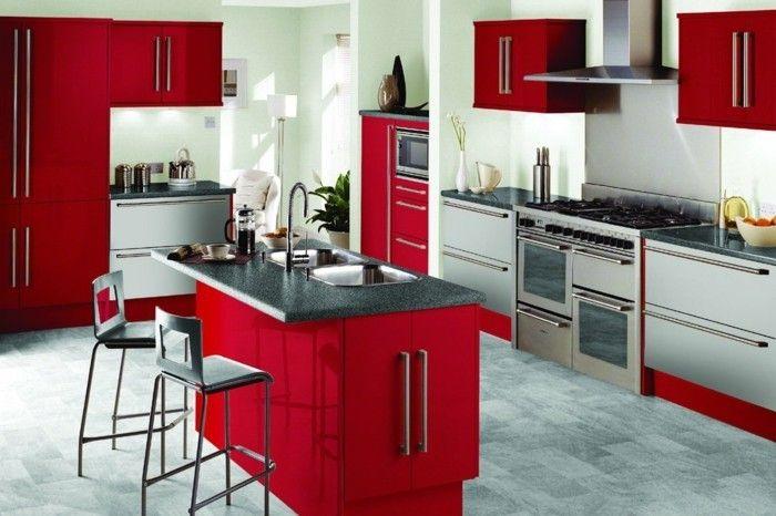 ▷ Retro Küchen Designs | Diner/Küche/50th | Pinterest | Diners
