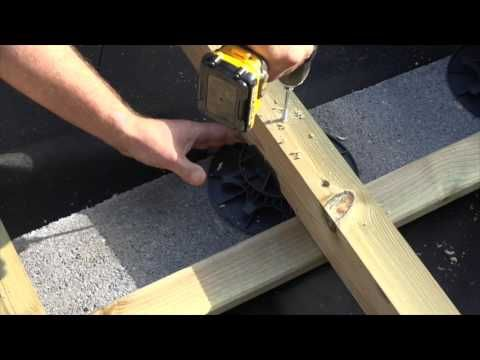 Plot pour terrasse NIVO H50-80mm - Plot pour lambourdes - Deck-Linea