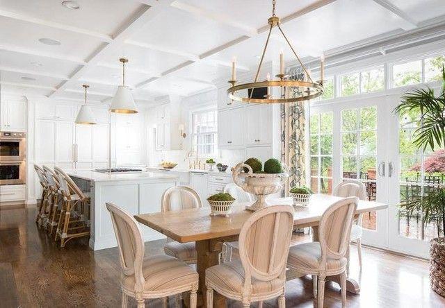 Goodman Medium Hanging Light In 2020 Bright Kitchens Living Room Arrangements Kitchen Design