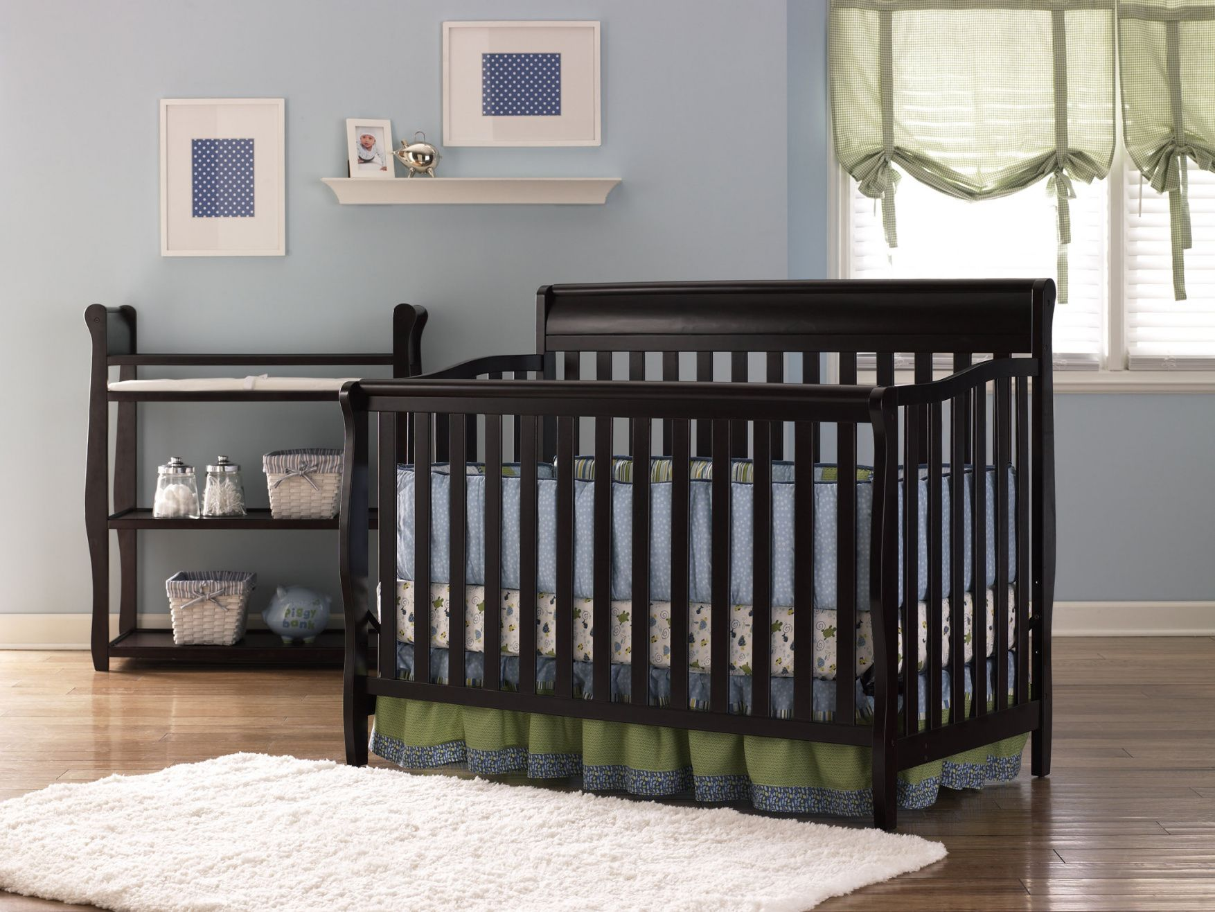 50+ Graco toddler Bed Conversion Rail Kit Country