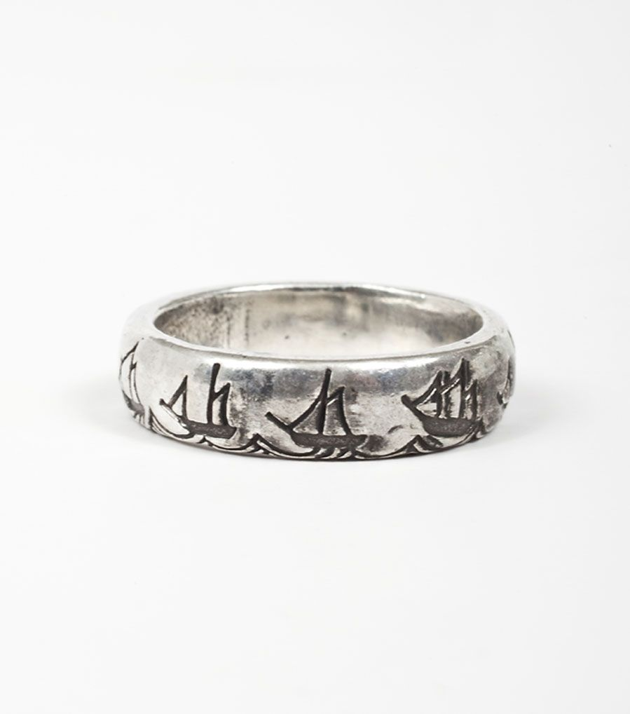 $150 catbird :: shop by category :: JEWELRY :: Wedding & Engagement :: Non-traditional :: Battle Diagram Ring
