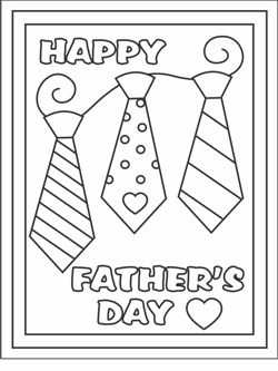 Free Printable Fathers Day Cards Coloring Cards For Kids Fathers Day Coloring Page Handmade Father S Day Gifts Father S Day Activities