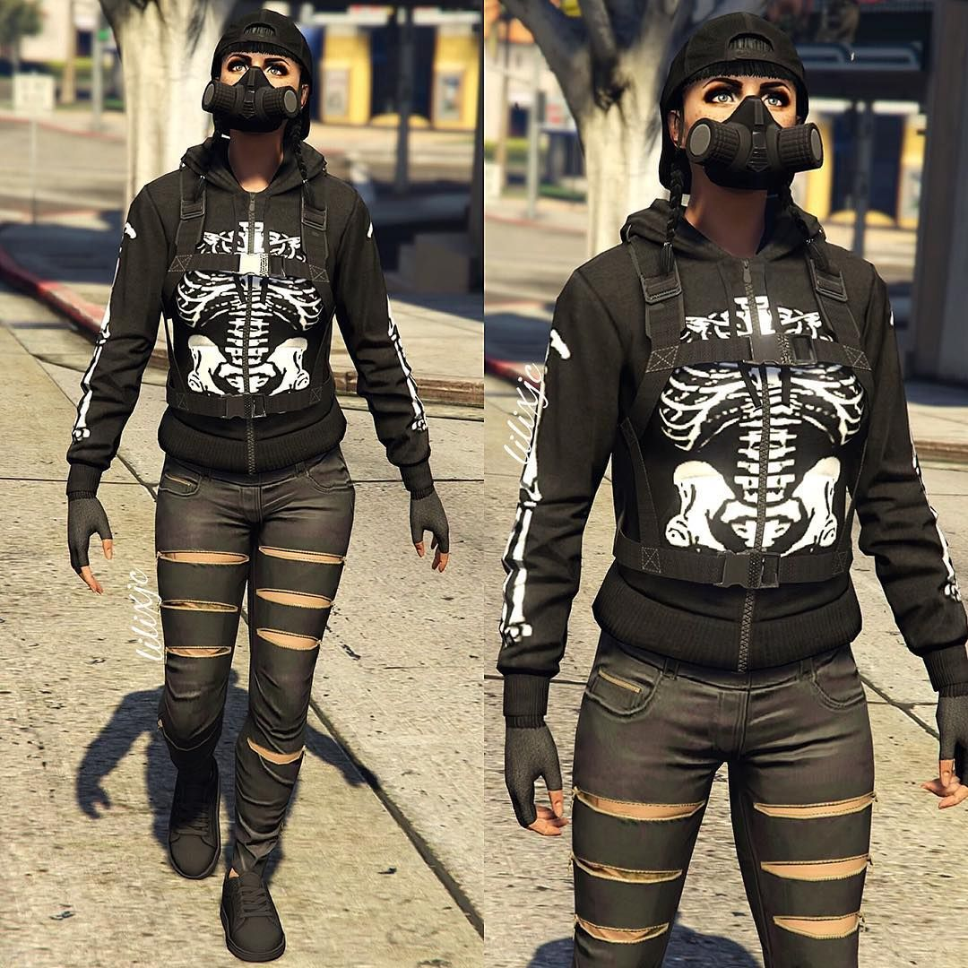 Old outfits Bc Im not home ;) ------------ Ignore - - - - - #gta