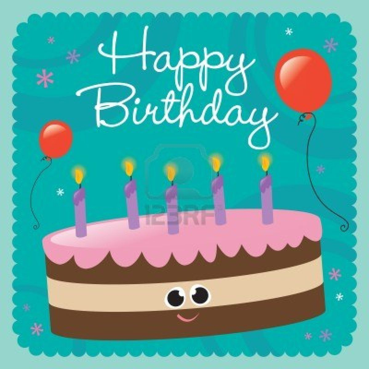 Happy Birthday Cards 6 Coloring Kids – Greetings for Birthday Cards